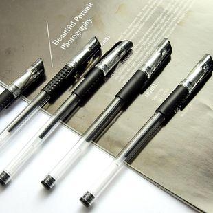 Gel Pen 0.5mm Bullet Syringe Carbon Water-based Pen Signature Pen NHHE186851's discount tags