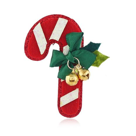 Christmas crutches brooch temperament bells Christmas gift box gifts wholesale NHKQ187329's discount tags