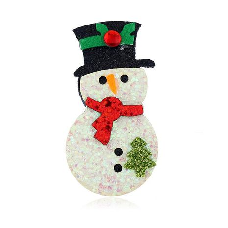 Christmas snowman brooch pin suit decoration corsage NHKQ187331's discount tags