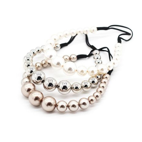 Simple hair accessories size beads beads ball band headband NHWJ187590's discount tags