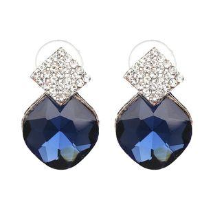 Earrings Sell New Fine Alloy Diamond Earrings Jewelry NHJJ187270's discount tags