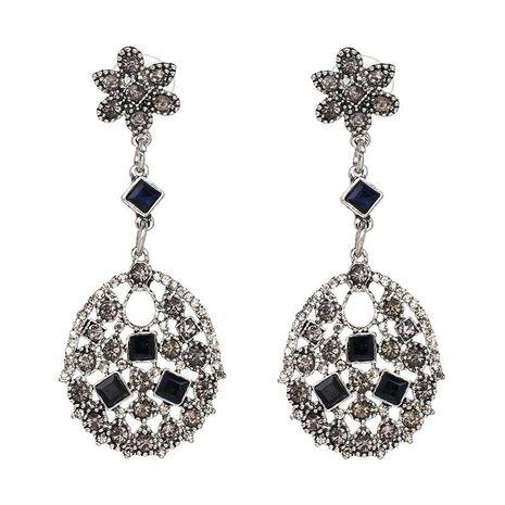 Vintage Hollow Earrings with Black Diamond Earrings for Women NHJJ187274's discount tags