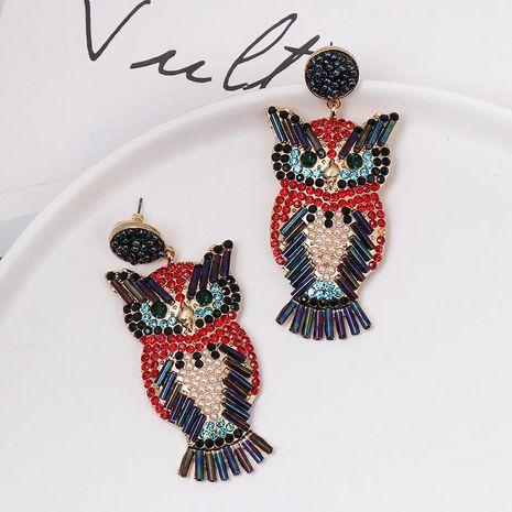 Owl Earrings Retro Earrings Simple Korean Earrings NHJJ187285's discount tags