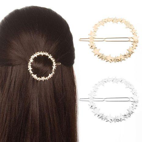 Mode coréenne simple givré cercle étoile barrette coiffe printemps clip bijoux NHDP187604's discount tags