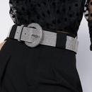 Alloy diamond belt luxury full diamond belt colorful waist seal NHJQ187778