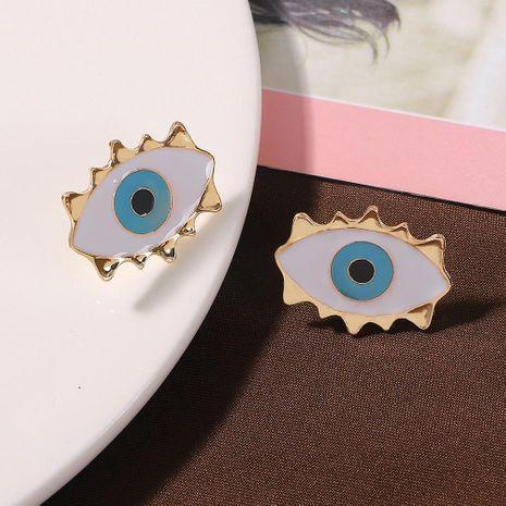 Korean new alloy eye earring fashion earring accessories NHJQ187788's discount tags