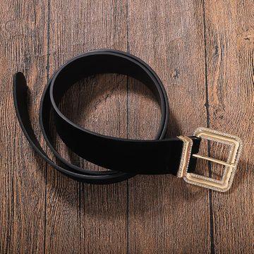 Cinturón de franela de aleación con diamantes. NHJQ187793