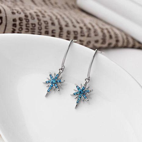 Long earrings earrings simple wild diamond earrings trend star tassels earrings NHQD187883's discount tags