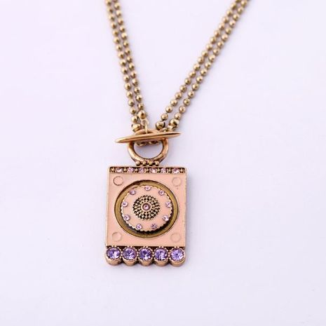 Jewelry Wholesale Square Women's Long Sweater Chain Sweater Chain NHQD187897's discount tags
