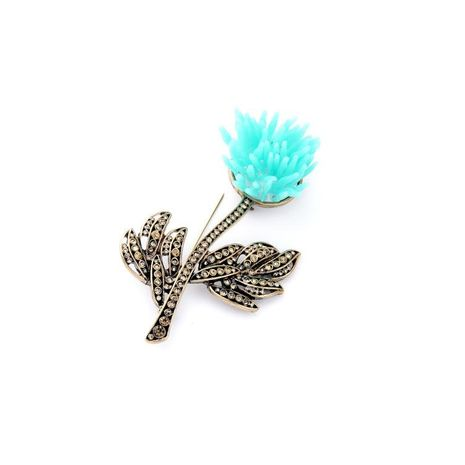 Fashion item jewelry wholesale alloy diamond tree branch flower ladies brooch NHQD187912's discount tags