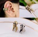 Elegant fashion ear jewelry wholesale new retro personality skull ear clip NHQD187917