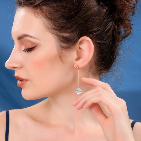 Alloy fishtail earrings long mermaid Ji colorful fish scale sequin earrings women NHQD187918's discount tags
