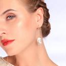 Long Earrings Fashion Face Ear Studs New Temperament Asymmetric Earrings NHQD187931