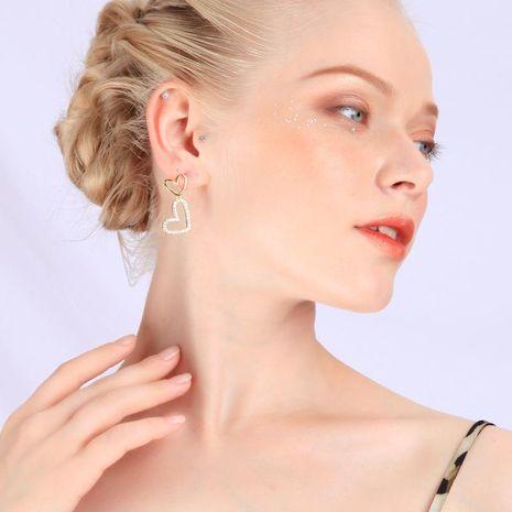 Korean Crystal Diamond Earrings 925 Sterling Silver Stud Earrings NHQD187933's discount tags
