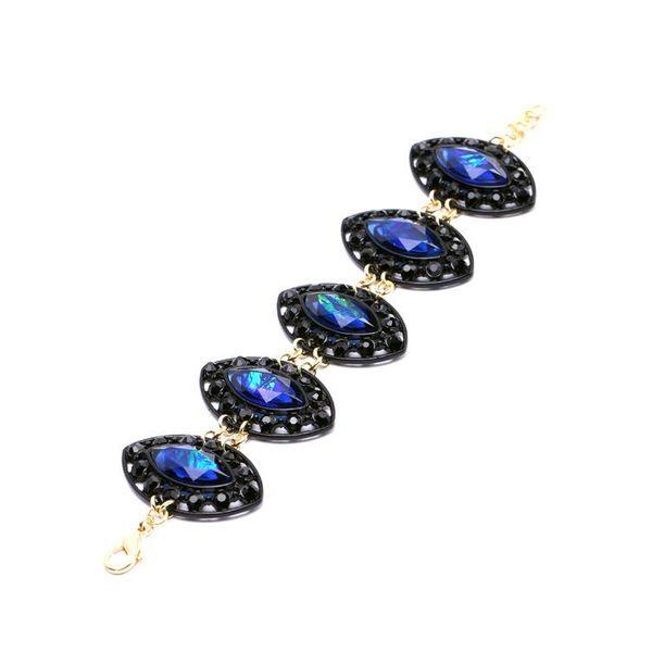 Fashion jewelry wholesale new alloy gem women's bracelet NHQD187942