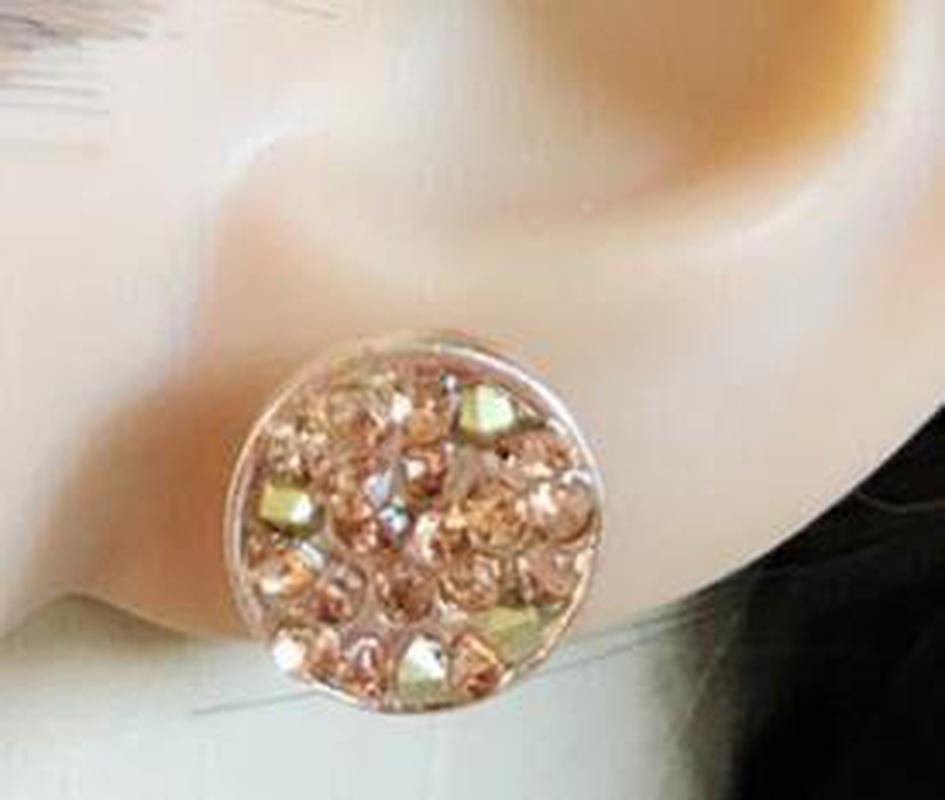 Jewel Earrings Rose Gold Earrings Earrings Women Jewelry Wholesale NHOM187985