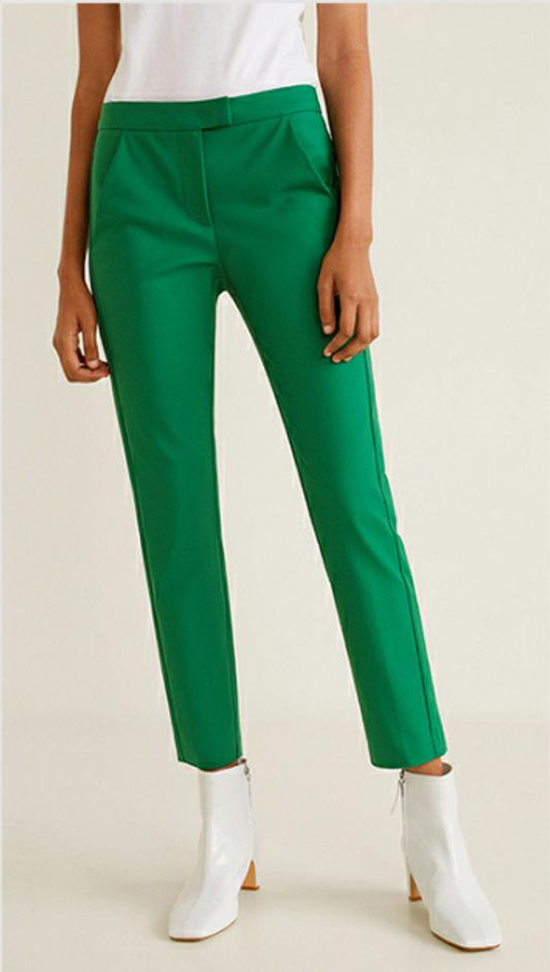 Women's new solid color loose straight trousers casual pants NHAM188180
