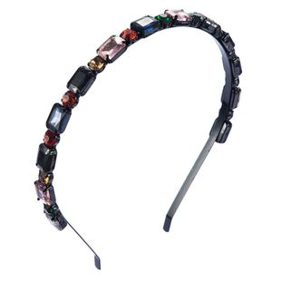 Fashion Flashing Stained Glass Headband NHLN188272's discount tags