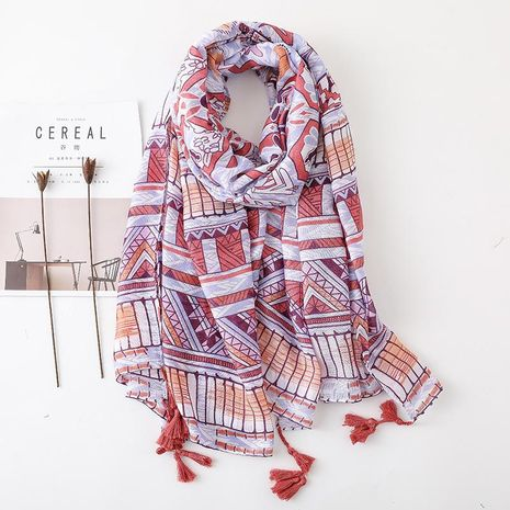 Spring and summer simple fashion scarf sunscreen scarf oversized air conditioning shawl women NHGD188330's discount tags