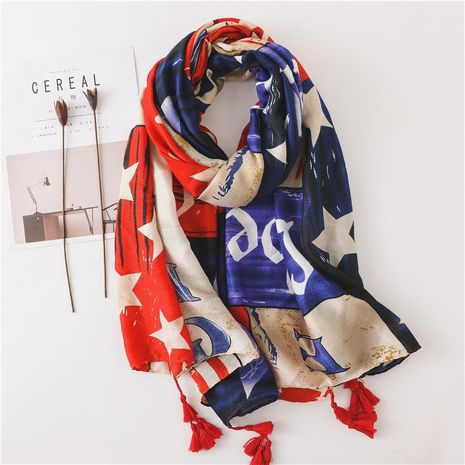 Scarves women spring and autumn sun shawl summer wild seaside oversized scarf NHGD188342's discount tags
