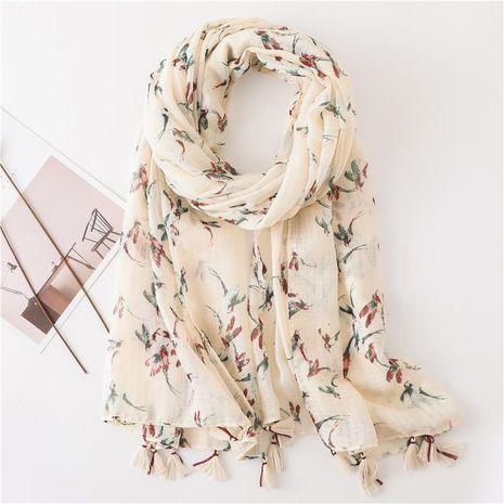 Sun shawl women summer wild silk scarf beach towel NHGD188343's discount tags
