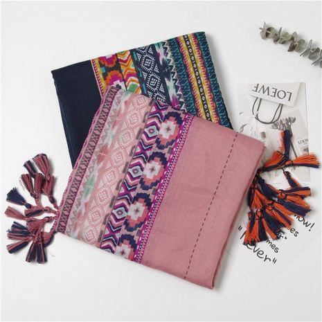 Thin sunscreen fringed scarf shawl shawl air conditioner room shawl NHGD188348's discount tags