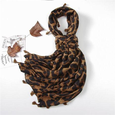 Creative fashion sexy big leopard print scarf women NHGD188359's discount tags
