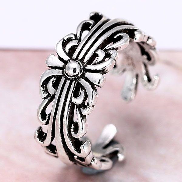 fashion metal imitation Thai silver open ring NHSC188108