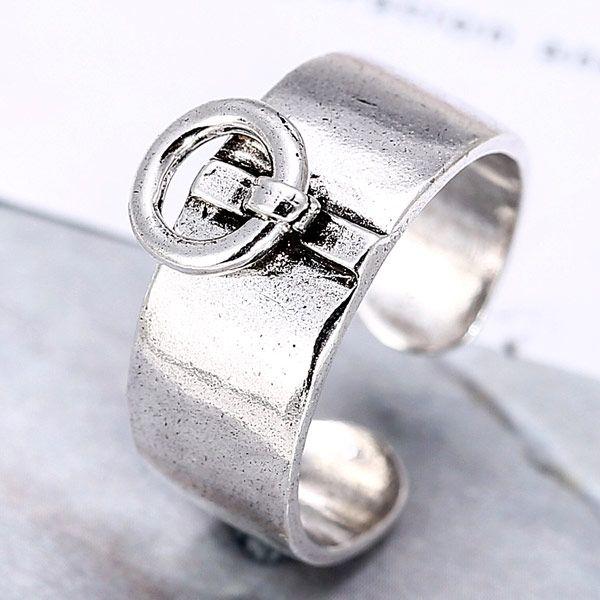 fashion jewelry metal imitation Thai silver open ring NHSC188115