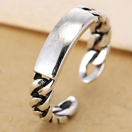fashion women's metallic vintage simple open ring NHSC188117's discount tags