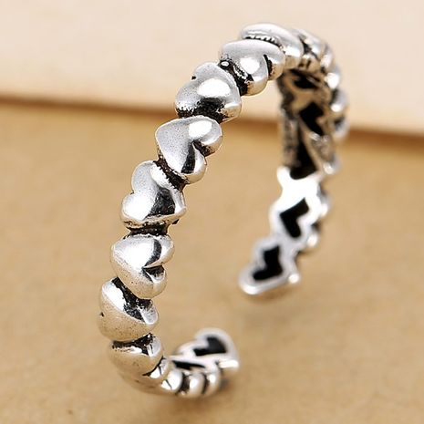 wholesale fashion jewelry metal vintage love women's open ring NHSC188120's discount tags