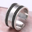 wholesale fashion jewelry metal Thai silver womens open ring NHSC188121