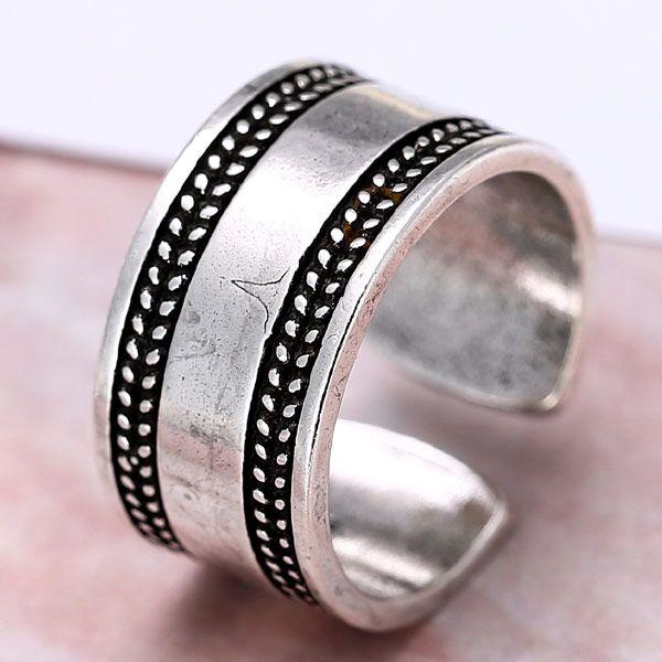 wholesale fashion jewelry metal Thai silver women's open ring NHSC188121