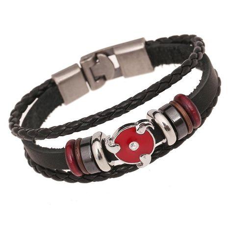 Leather bracelet student bracelet wholesale new leather bracelet NHPK188546's discount tags