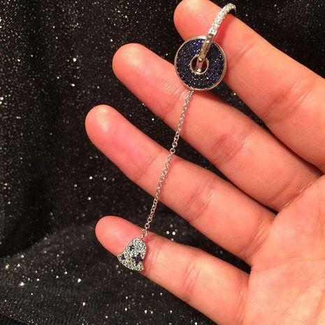 Fashion long fringe small bell earring earrings NHWK188609's discount tags