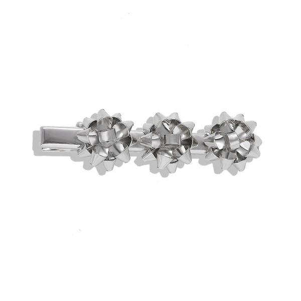 New alloy flower hair clip fashion word clip wild hair accessories accessories wholesale NHJQ188694