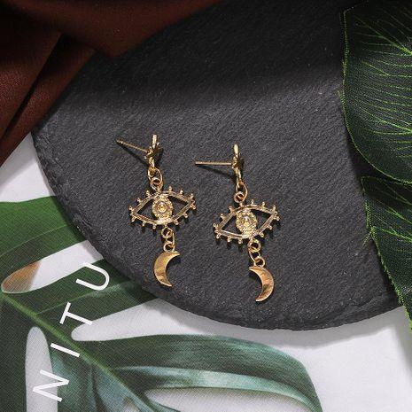 New Star Moon Eye Earring Fashion Earrings NHJQ188699's discount tags