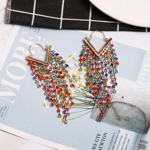 New diamond-studded earrings NHJJ188728's discount tags