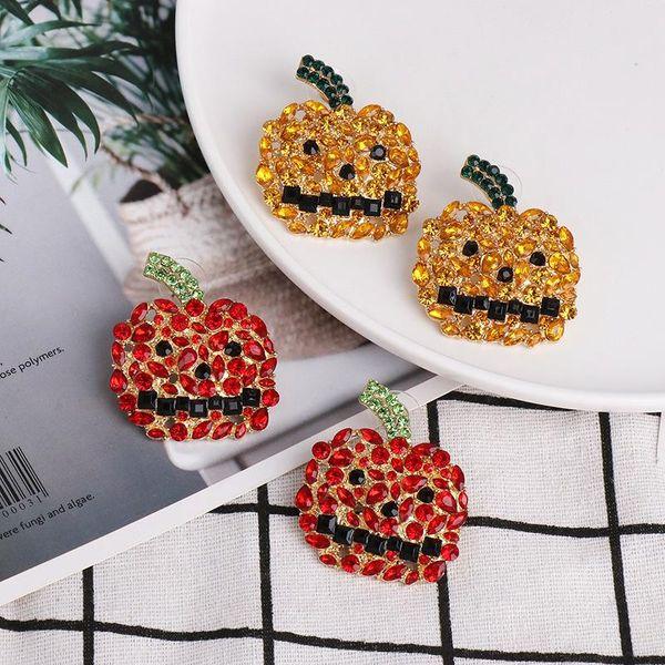 Personalized Hip Hop Trend Horror Halloween Combination Earrings Chunna Jewelry NHJJ188774