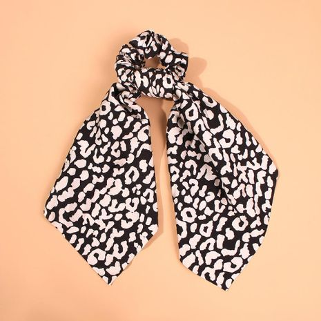 Chiffon headband leopard fashion bow head rope meatball head bowel ribbon hair accessories women NHMD183540's discount tags