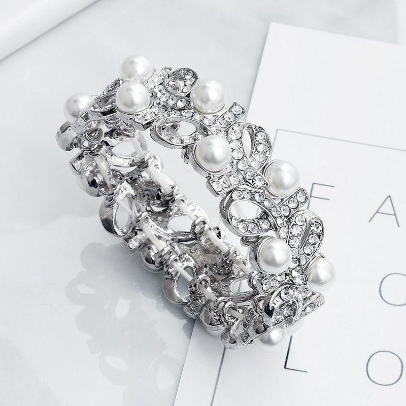 Simple Trend Personalized Bracelet Pearl Stretch Bracelet Bracelet NHHS183608