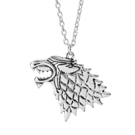 Sweater Chain Song of Ice and Fire Juego correcto Collar Stark Wolf NHDP183741's discount tags