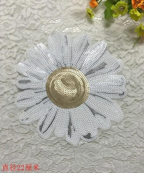 Cloth paste handmade diy clothing accessories sequins Zhang Tsai clothes decoration need hand sewing NHLT188965