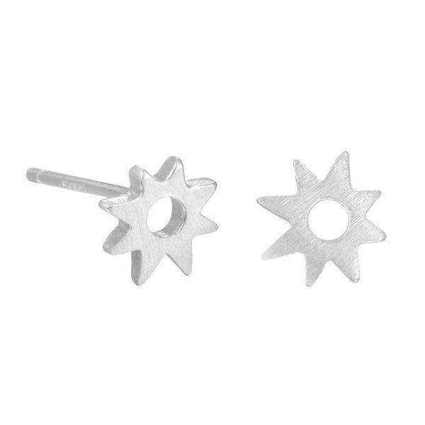 Little Sun Earrings Alloy Plating Cute Sunflower Ear Studs Wholesale NHCU189028