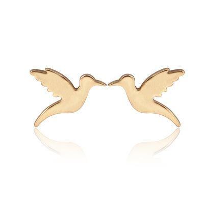 Ladies earrings flying bird earrings woodpecker earrings and peace pigeon earrings wholesale NHCU189033's discount tags