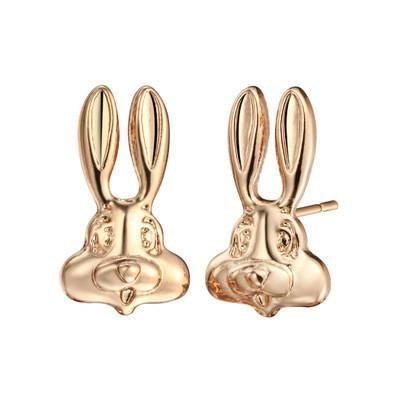 Hot sale cute cartoon rabbit earrings NHCU189035's discount tags
