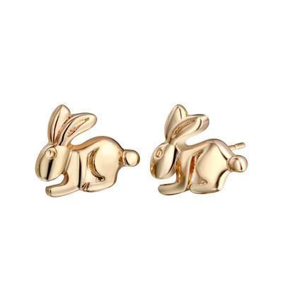 Cute little animal earrings mini bunny earrings NHCU189042's discount tags