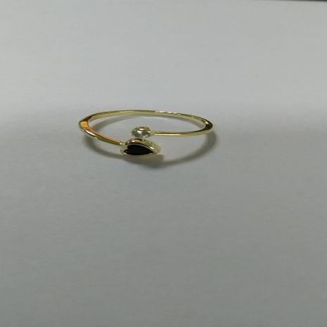 s925 Bague pour femme en argent sterling avec cœur en agate secrète et diamant unique-C NHKL189565's discount tags
