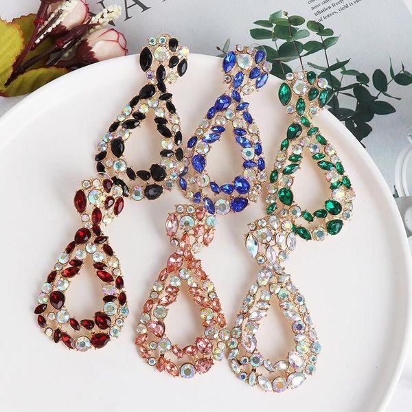 New geometric earrings color long earrings earrings women NHJJ189624