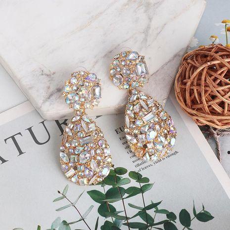New micro stud earrings geometric water drop earrings fashion delicate jewelry wholesale NHJJ189626's discount tags